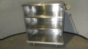 Stainless Steel Medical Utility Cart