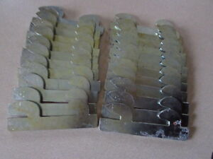 Lot Of 24 Unarco Sturdi Bilt Clip S 303h Slotted Pallet Rack Beam Wedge