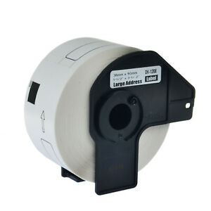 20 Roll Dk 1208 Dk1208 Address Labels For Brother Ql 570 1050 570vm 720nw 710w