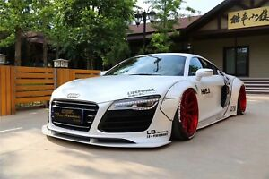 Audi R8 Walk Style Full Wide Body Kit Front Lip Diffuser Sideskirt Spoiler