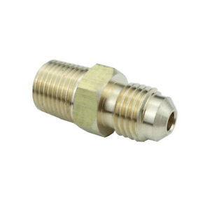 48f 6 6 Brass Fitting 3 8 Male 45 Flare X 3 8 Male Npt Pipe Parker Hannifin