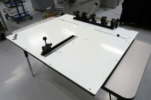 Carlson Plate Punch Excellent Condition 30 5 Plates Heidelberg Ryobi Ab Dick