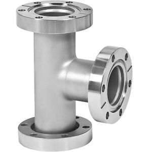 2 3 4 Od Uhv Conflat Vacuum Tee Stainless 3 X 2 3 4