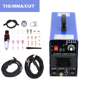 Cut tig mma Air Plasma Cutter Welding Machine Ct312 Welder 3in1 Accessories