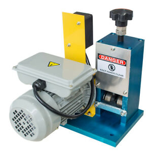 Electric Wire Stripping Copper Stripper Machine Motorized Metal Recycle Us Ship