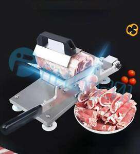 Stainless Manual Control Meat Slicer Cutting Beef Mutton Sheet Food