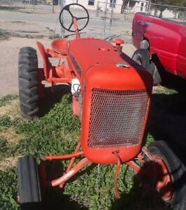 1938 Allis chalmers Model B Gas Antique Tractor A C Wc Allis Chalmers