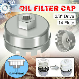 14 Flutes 64mm Oil Filter Cap Wrench Remover For Toyota Camry Corolla Rav4