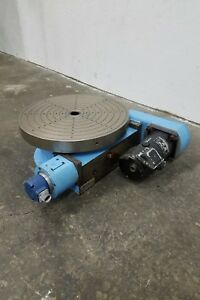 M M Precision Rotary Indexing Table Used Am18441