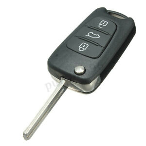 3 Button Car Remote Case Key Shell For Kia Sorento Sportage Cerato Rio Optima