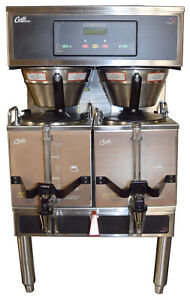 Curtis Gemini G3 Twin 1 5 Gal Coffee Brewer Gemts10a1000 Coffee Maker