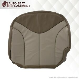 2001 2002 Gmc Sierra And Denali Leather Seat Covers 2 Tone Tan choose Variant