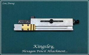 Kingsley Machine Hexagon Pencil Attachment Hot Foil Stamping Machine