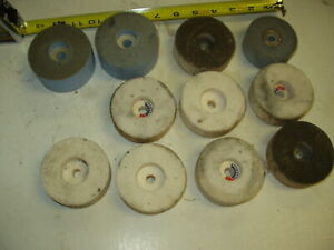 National Grinding Wheel Assortment 3 With A 3 8 Arbor Lot Of 11
