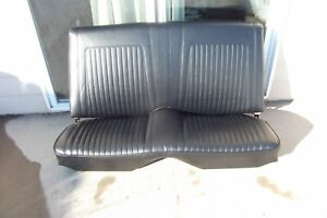 1967 1968 1969 Nice Camaro 67 68 69 Coupe Black Rear Back Seat Recovered 53