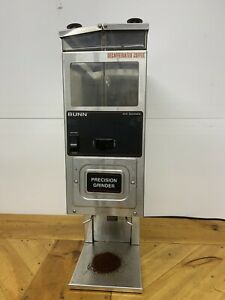 Bunn G9 2 Hd Portion Control Coffee Bean Grinder With 2 Hoppers Commercial Works