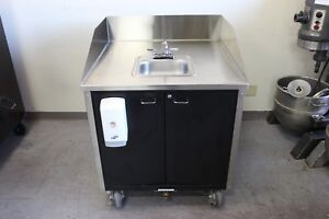 Portable Sink With Hot Water Heater