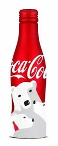 LIMITED CHRISTMAS XMAS POLAR BEAR COCA COLA COKE ALU ALUMINUM MEMORITIVE BOTTLE
