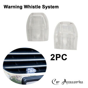 Car Grille Deer Animal Warning Whistle System Repeller Alert Safety Accessories
