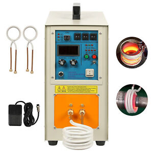 30 100 Khz 15kw 220v 50 Hz High Frequency Induction Heater Furnace 2200