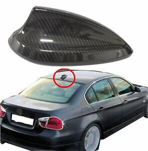 13 17 F22 F82 M3 M4 Real Carbon Fiber Shark Fin Antenna Cover For Bmw