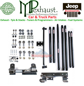 Jeep 1997 2006 Wrangler Tj At Dom Long Arm Travel Kit Steinjager J0031113