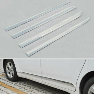 Outside Car Door Body Side Molding Chrome Abs Trim For Toyota Sienna 2011 2019
