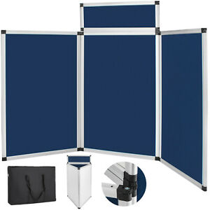 Folding Portable Display Board Exhibition Trade Show Presentation With Carry Bag
