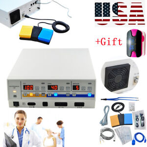 Medical Electrosurgical Unit Diathermy Machine Surgery Foot Control Bipolar Easy