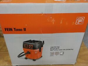 Fein Turbo Ii Vacuum Cleaner 8 4 Gallon 1100w Includes 13 Ft Suction Hose