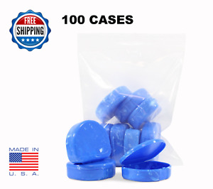 Retainer Cases 100 Pack Invisalign Orthodontic Nightguard Blue Marble Color