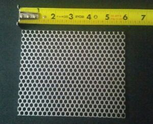 3 16 Holes 16 Gauge 304 Stainless Steel Perforated Sheet Approx 5 7 8 4 3 4