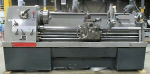 Clausing Colchester Model 8051 Geared Head Straight Bed Engine Lathe 17 X 60