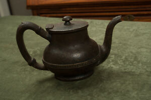Barton Reed Silver Plate Tea Pot The Portage Rr 358 Ip 5 O4l Soldered