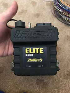 Haltech Elite 750 With Premium Harness Kit And O2 Control Unit