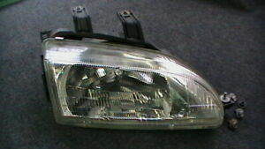 1992 1995 Honda Civic Front Passenger Headlight Oem 001 6618