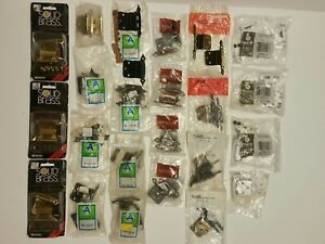 Lot Of 23 Pks 2 46 Decorative Hinges Cabinet Door Vintage Hardware Amerock Nos