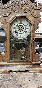 Antique Clock By Waterbury Clock Company