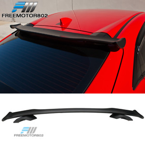 Fits 2017 2018 Honda Civic 5dr 10th Gen Type R Style Roof Spoiler Abs