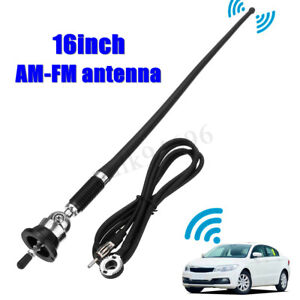 16 Universal Car Auto Roof For Fender Radio Am Fm Signal Antenna Aerial