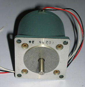 Superior Electric Ss25 Synchronous Stepping Motor Used