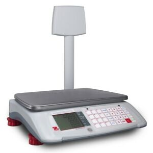 Ohaus Aviator 7000 Price Computing Scale A71p15dtnus 30 X 01 Lb 72248762