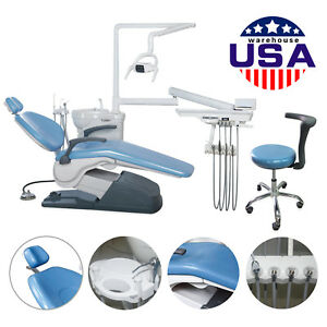 Usa To Door Dental Unit Dental Chair Computer Controlled Dc Motor W Stool Cn