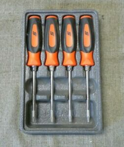 Snap On Sgtx40br 4pc Torx Mini Tip Soft Grip Screwdriver Set 96626 1 H