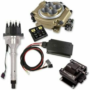 Holley 550 516k3 Sniper Efi Self tuning Hyperspark Kit Small Block big Block Che