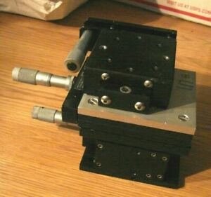 Edmund parker daedal oriel Linear Xyz Stacked Linear Stage With Mitutoyo Mics