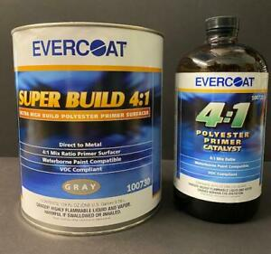 Combo 2 Evercoat Super Build Primer Kits 730 And 733 Catalyst Gallon And Quart