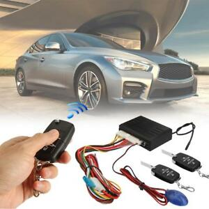 Car Keyless Entry System For Stop Start Button Led Keychain With Remote Control