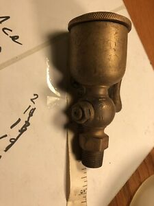 Antique Hit And Miss Gas Steam Engine Grease Cup Oiler Valve b2