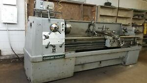 Clausing Colchester 17 X 80 Engine Lathe Removeable Gap Inch metric
